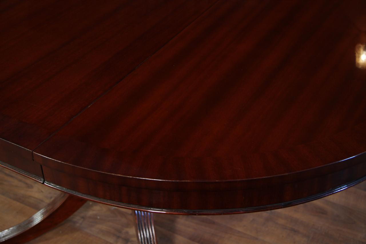 44 round dining table with leaf round mahogany dining table for 44 inch round dining table with leaf