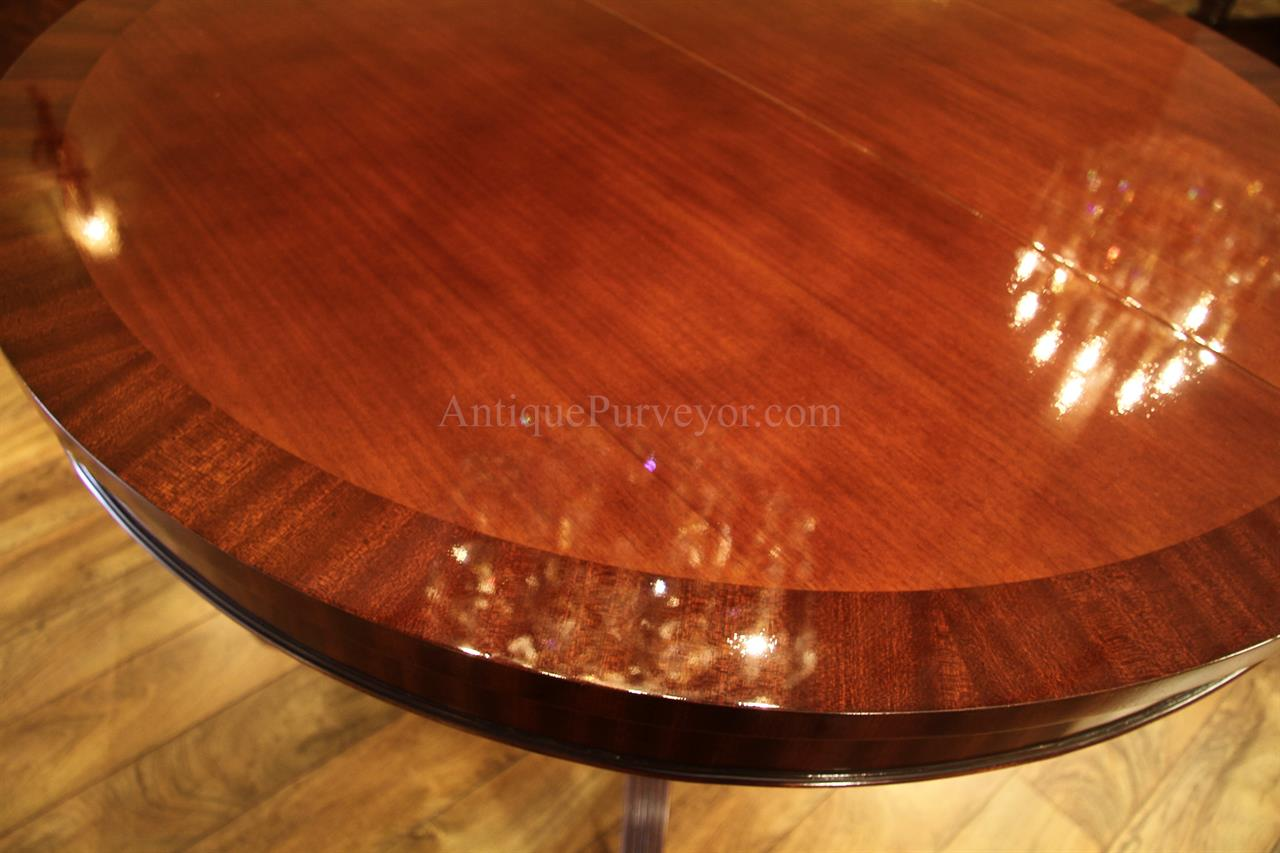 44 round dining table with leaf round mahogany dining table drum