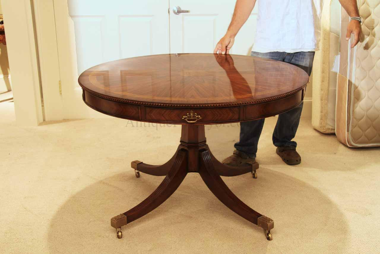 Theodore Alexander Inch Round Mahogany Table AL - 48 inch round conference table
