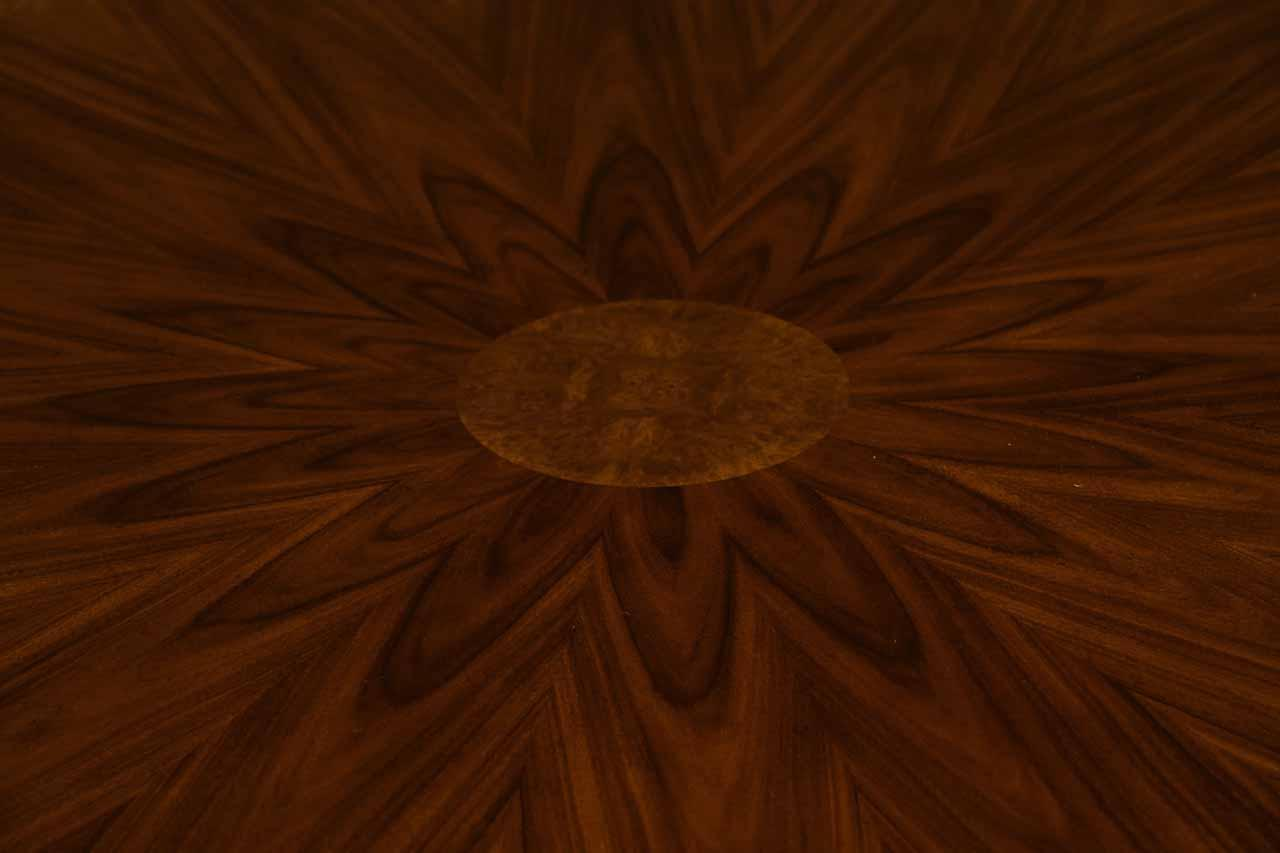 Details about 48 inch round formal duncan phyfe rosewood dining table - Oak Drawers