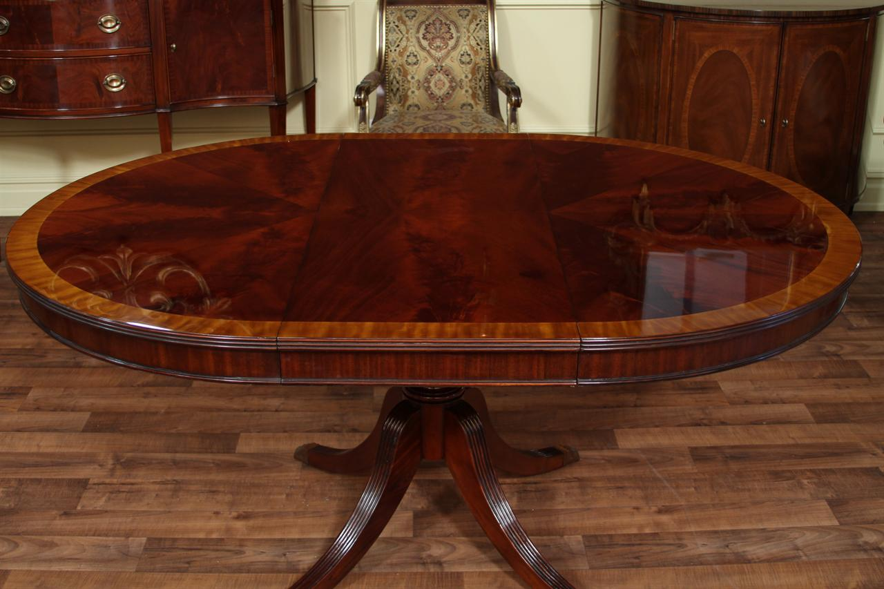Dining room table with leaves