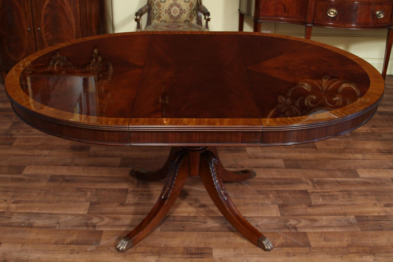 oval mahogany dining table reproduction antique dining room ebay