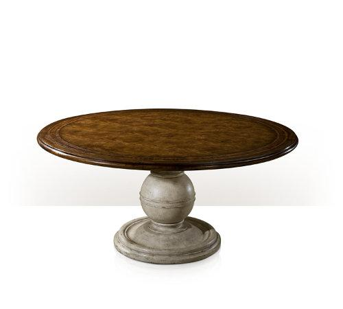 Round Country Wood Table Theodore Alexander 5402 018