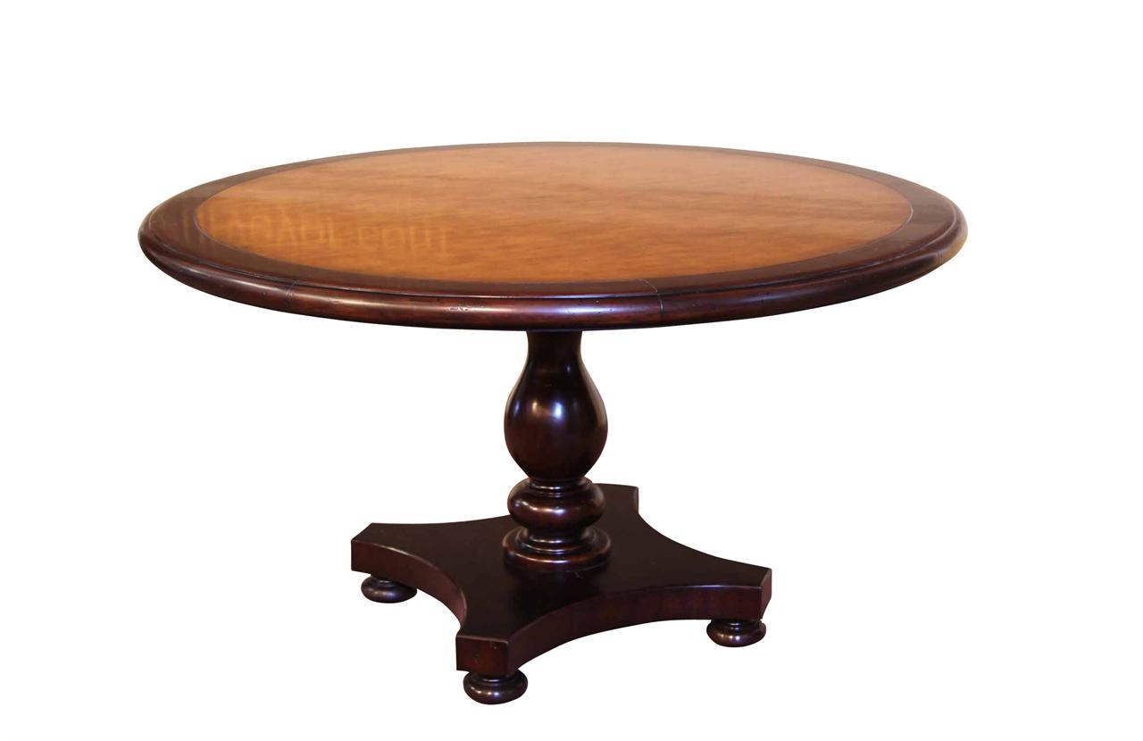 54 Round Blonde Pine Center Table Kitchen or Dining Table : 54 round kitchen or dining room pedestal table 12770 from antiquepurveyor.com size 1280 x 830 jpeg 43kB