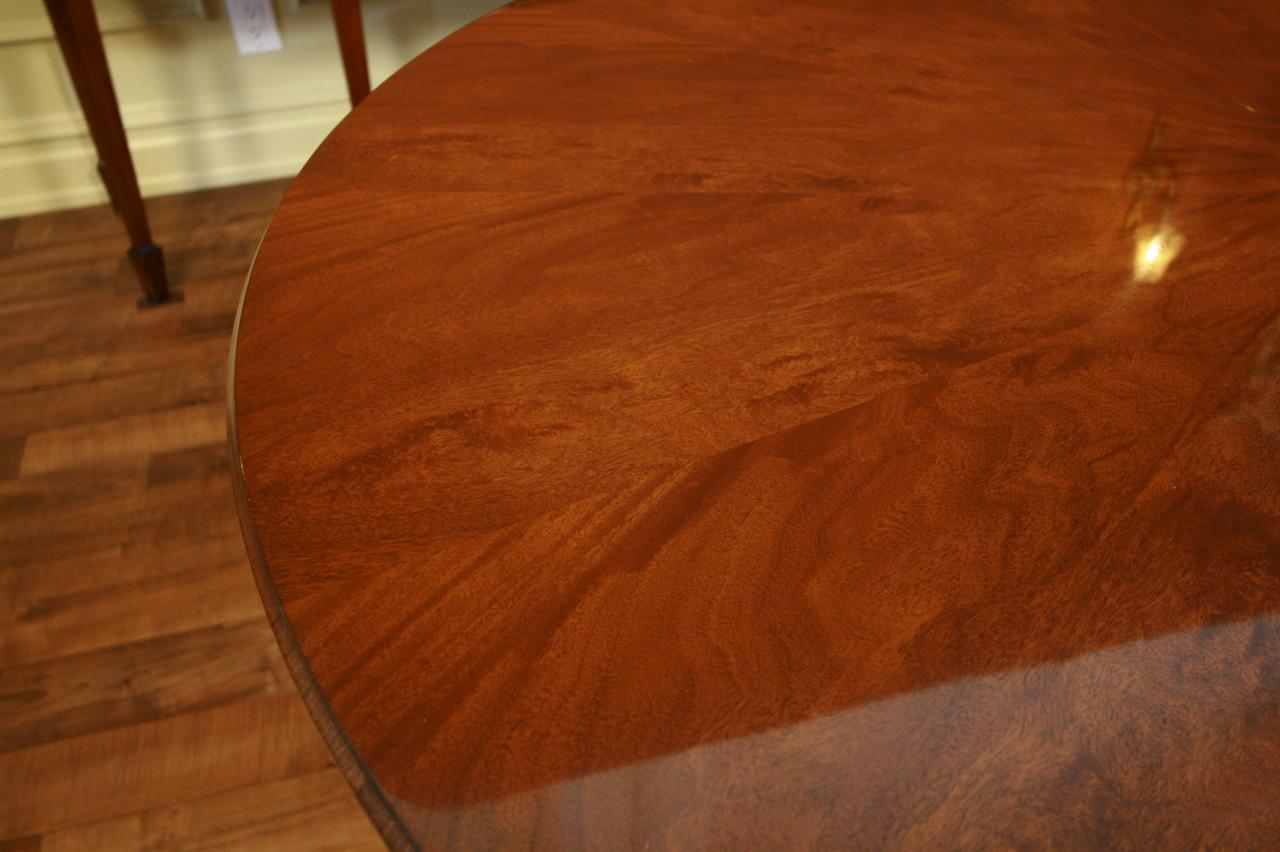 henredon round dining table starrkingschool round to oval mahogany dining table