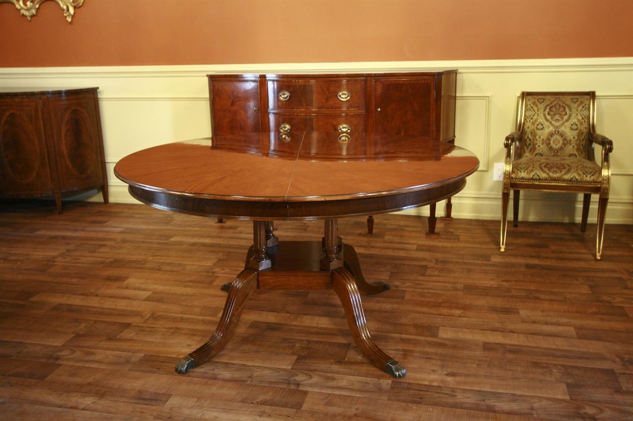 56 Round To Oval Ralph Lauren Henredon Dining Table Ebay