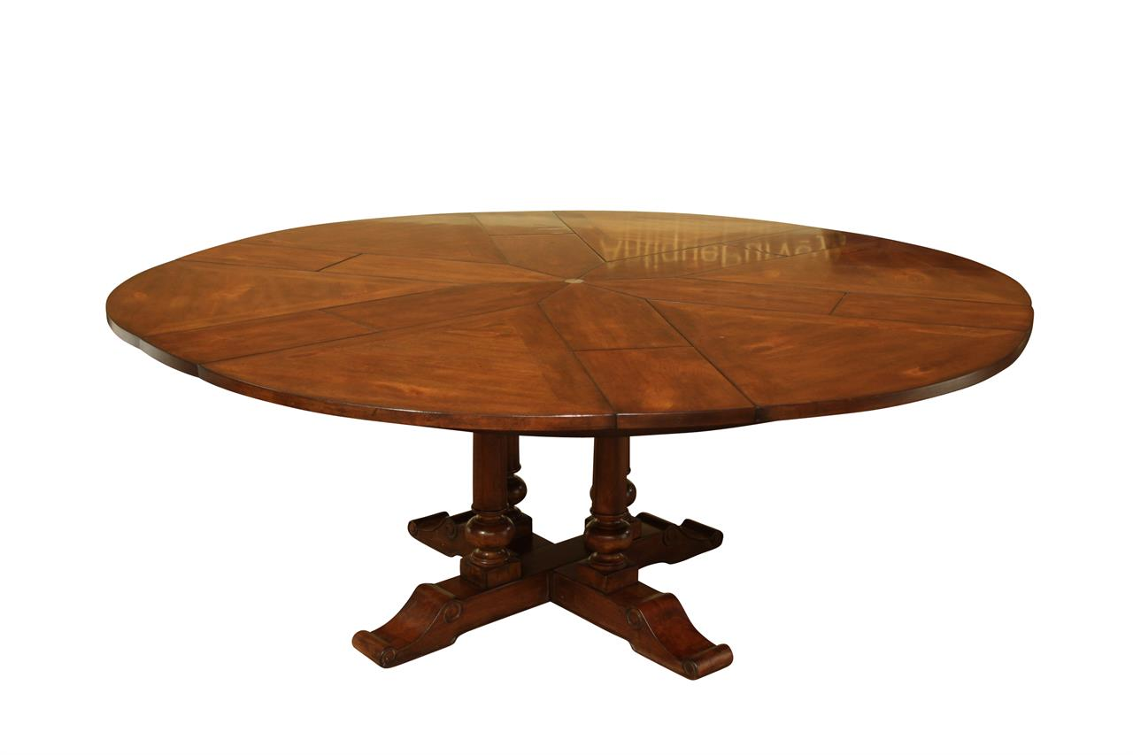 Round Dining Table 60 to 78 Round to Round Farm Jupe Table  : 60 to 78 round to round farm table with country turned pedestals 14609 from www.ebay.com size 1280 x 853 jpeg 48kB
