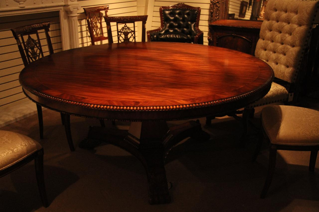 72 inch mahogany dining room table for Dining room table 72