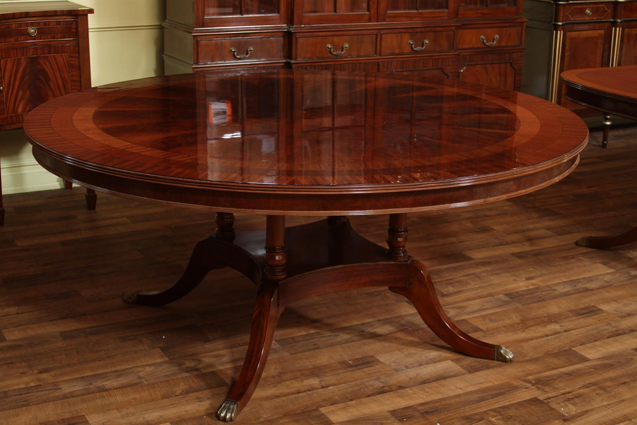 72 round dining tables 72 quot american made dining table mahogany ebay 3942