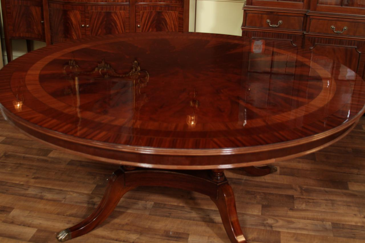 dining room mahogany dining tables round round american made dining table p