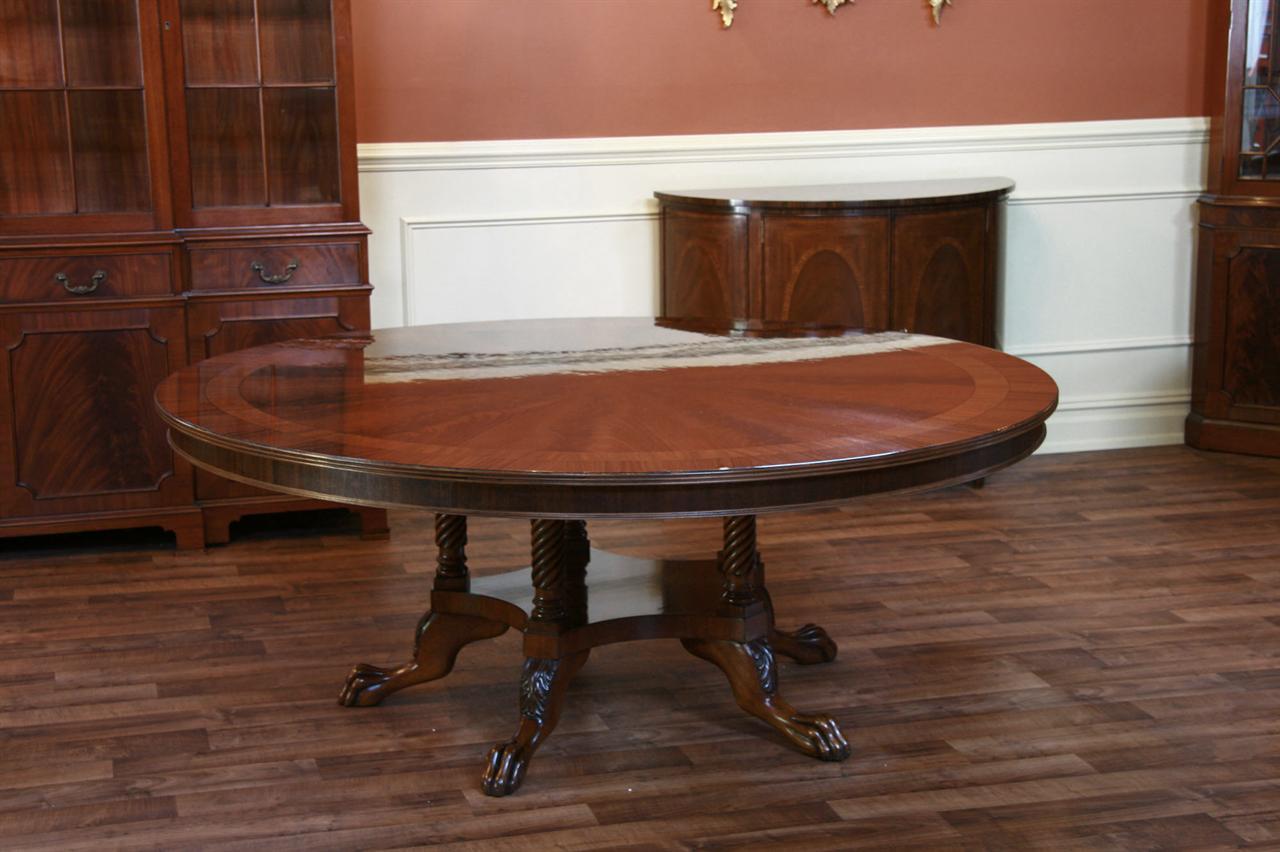 72 round table mahogany dining