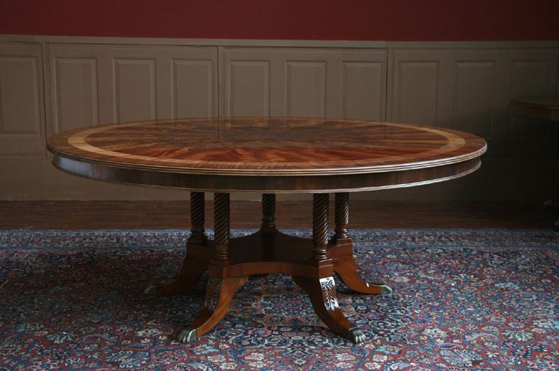 72 Round Dining Table American Large Round Dining