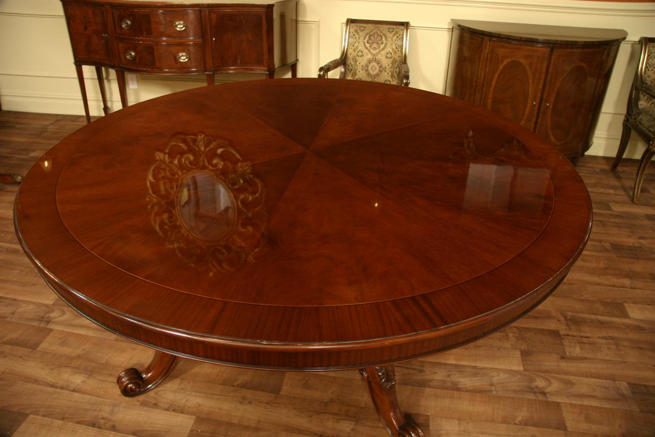 Outstanding Round Mahogany Dining Table 1280 x 853 · 104 kB · jpeg