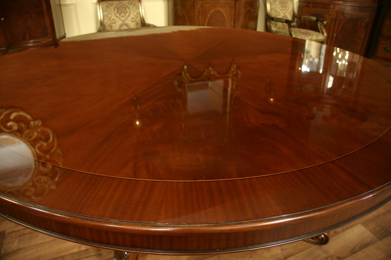 Details about 48 inch round formal duncan phyfe rosewood dining table - Details About 72 Round Table Mahogany Dining Table Formal Dining