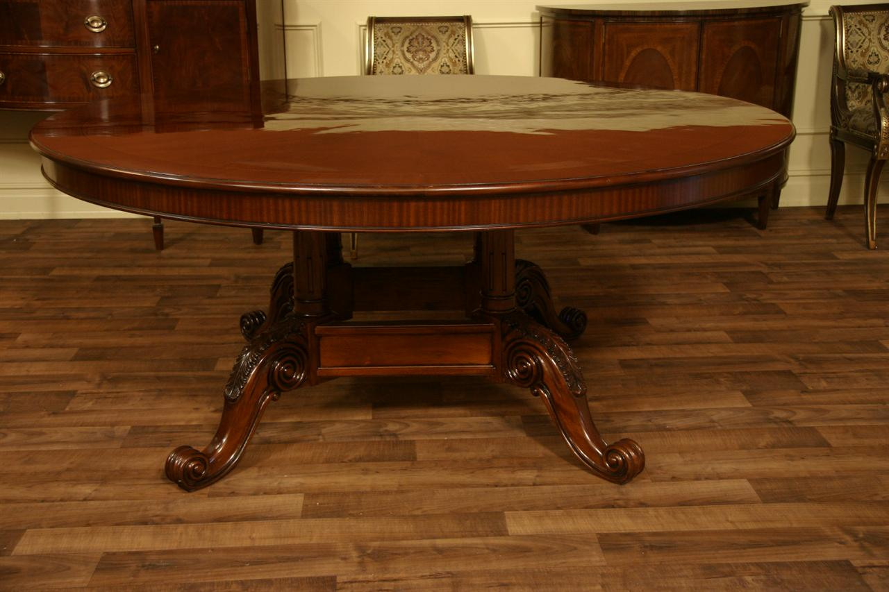 72 round dining table - Details About 72 Round Table Mahogany Dining Table Formal Dining