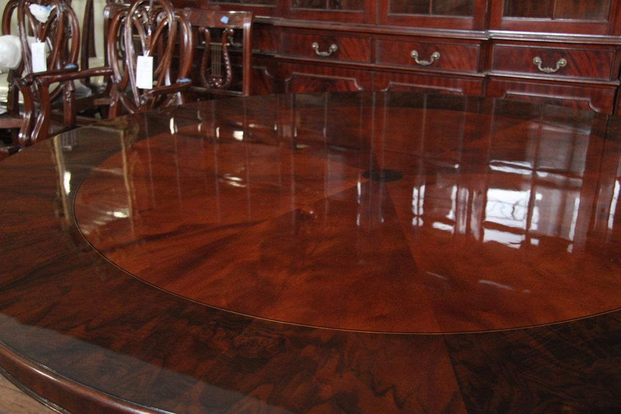 Attractive 72 Round Dining Table