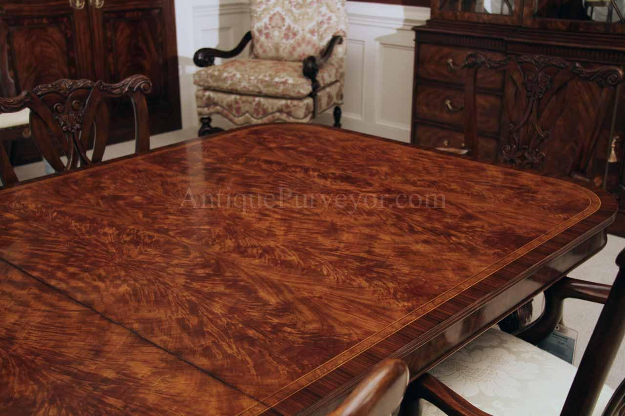 Flame Mahogany Dining Table For Seating 8 14 People 12