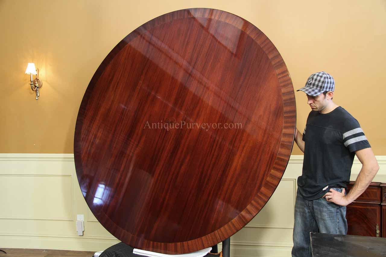 Custom American Made Classic Inch Round Dining Table - 84 inch conference table
