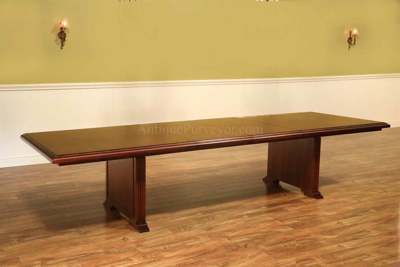Mahogany Conference Room Or Boardroom TableAmerican Made - Conference table pads