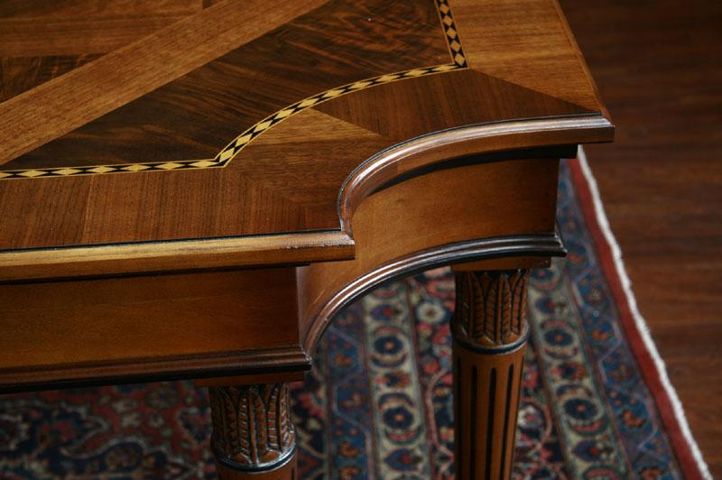 American Made Dining Room Table This Picture Shows Inlay Details And Corner
