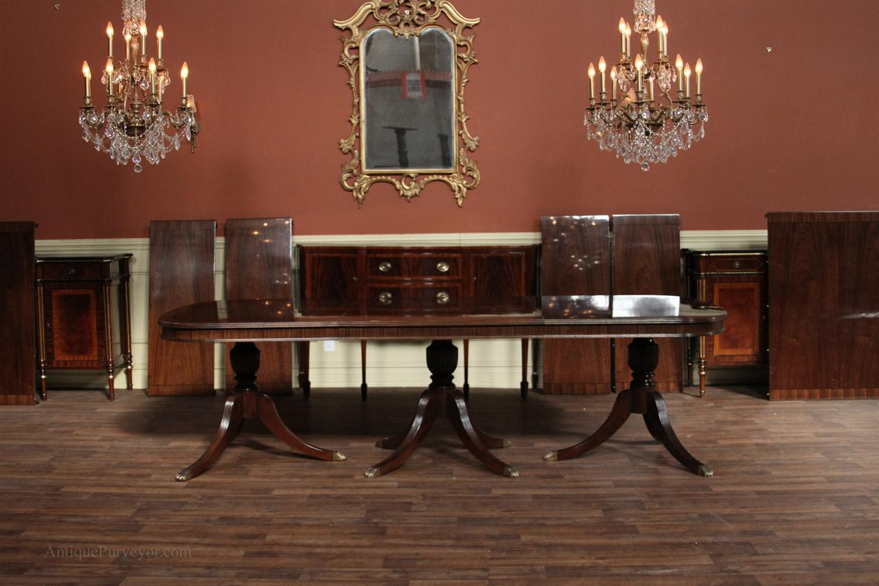 Antique reproduction furniture extra large dining table for Reproduction furniture