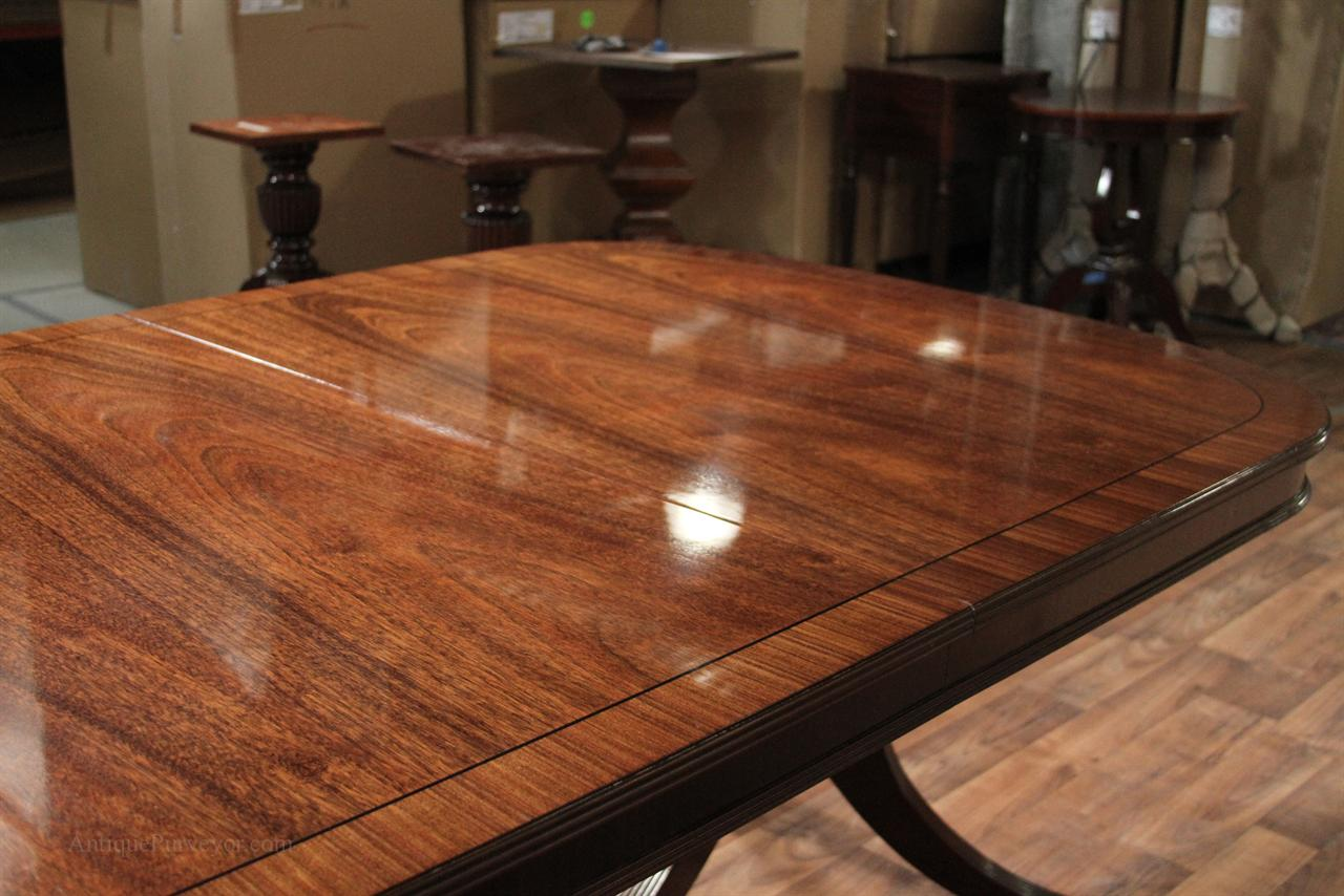 Superior If You Stand On The Opposite Side Of The Light Source, Table Shows Rich Wood  Grain