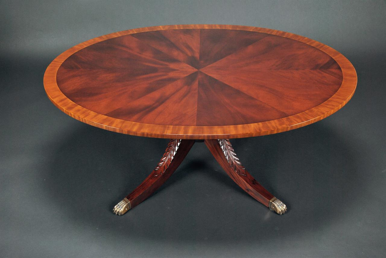 Inlaid & Banded Mahogany Coffee Table