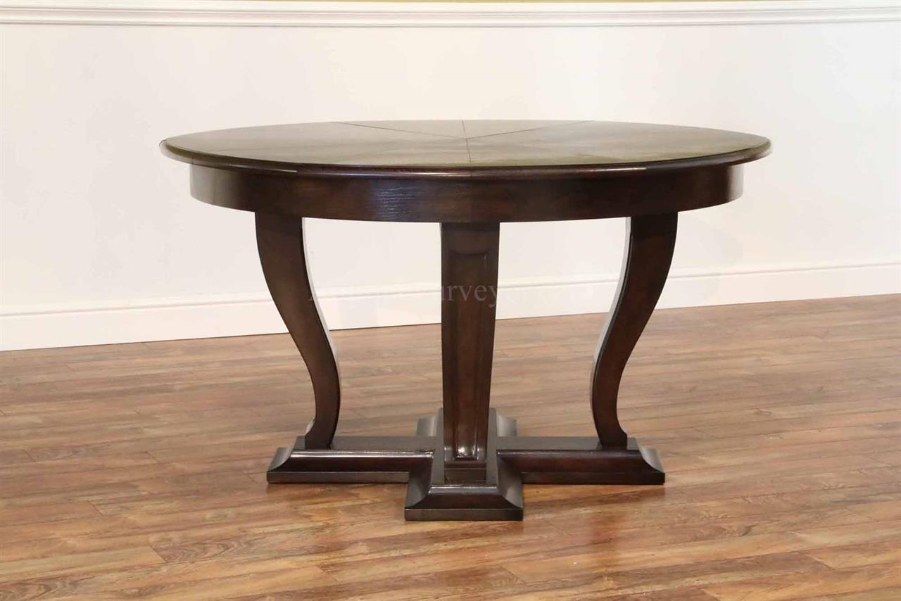 Ebonized Transitional Jupe Table