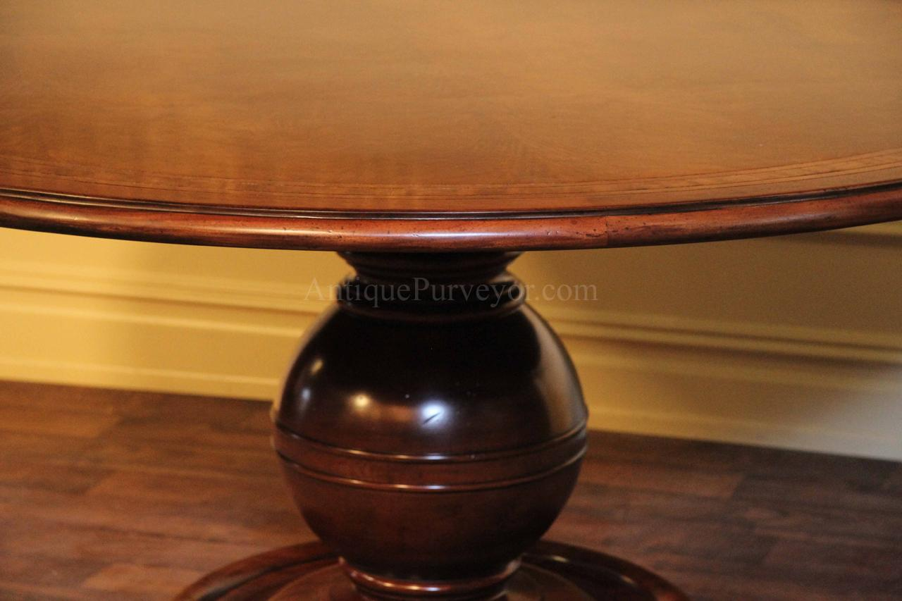 sphere and collar column pedestal inspired by 1930 french art deco designer art deco dining table high