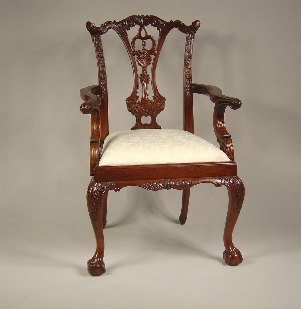 Chippendale Ball Claw18th Solid mahogany Frames Niagra