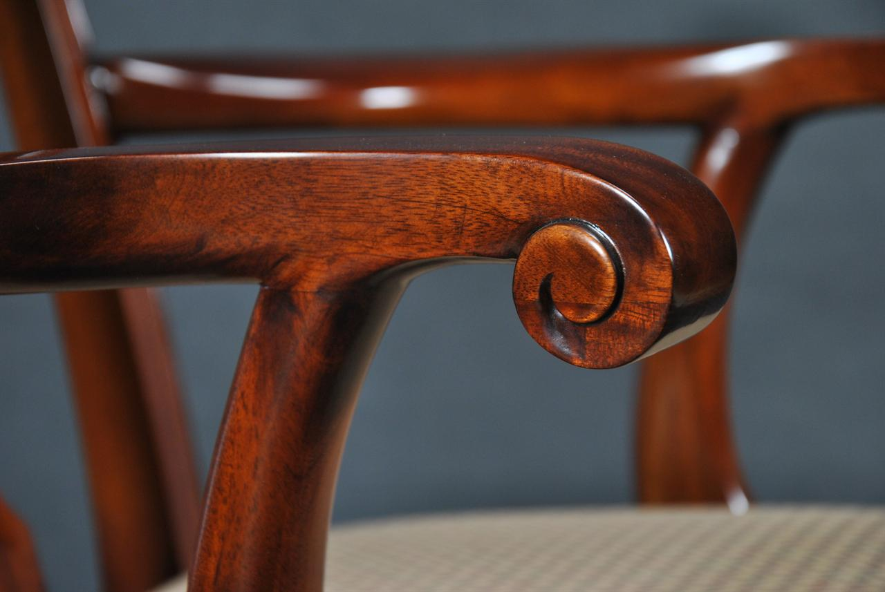 Fine Mahogany Dining Chairs | Solid Mahogany Furniture