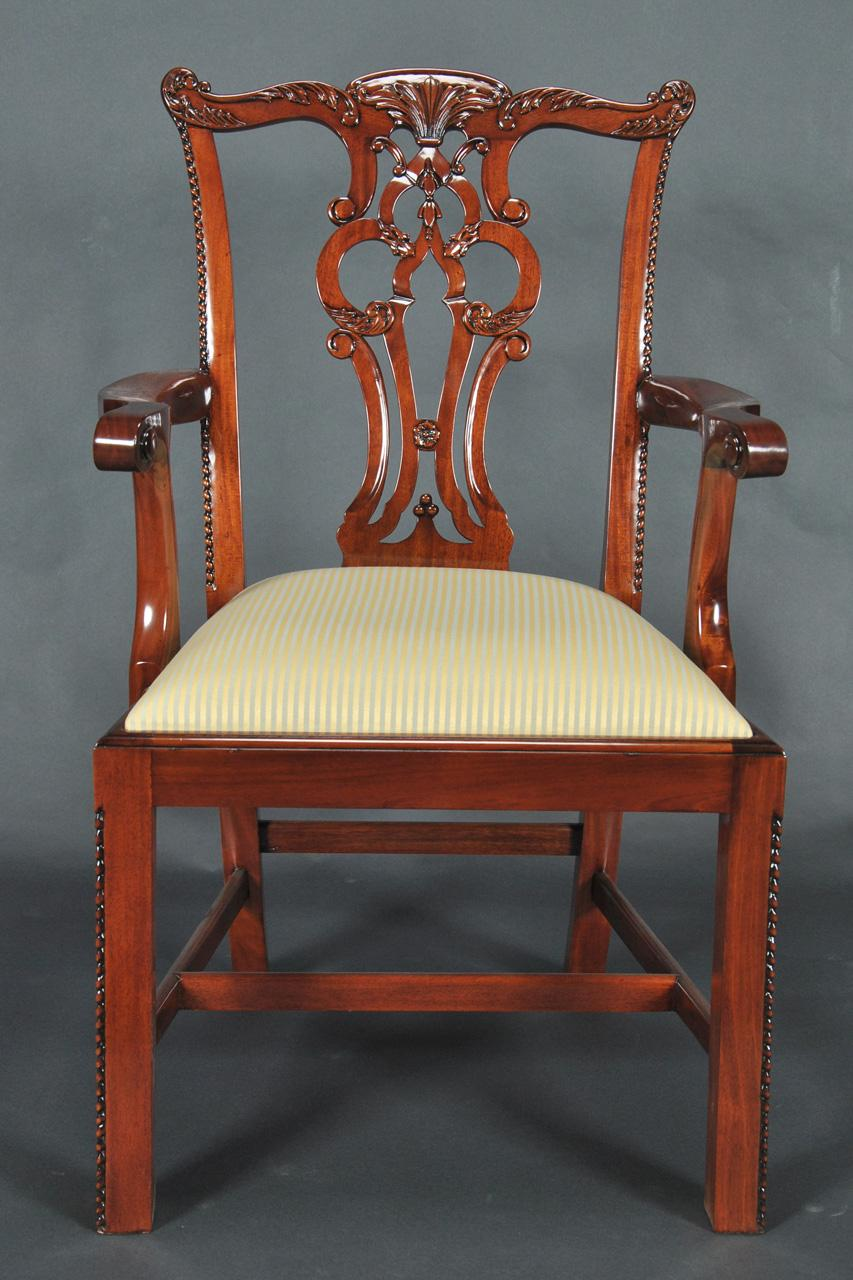 Gold Leg Dining Chairs