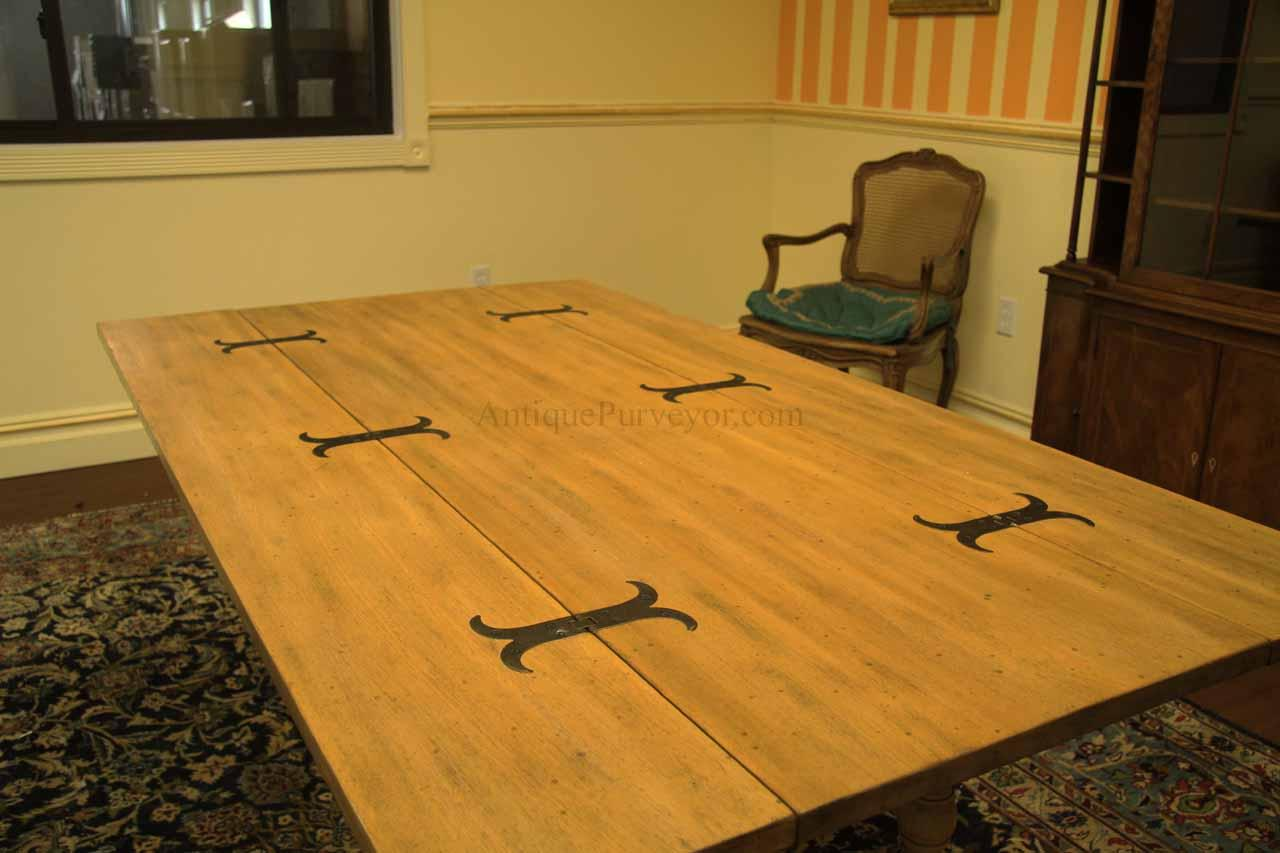Country Folding Table Configured For A Small Casual Dining Room Or Kitchen