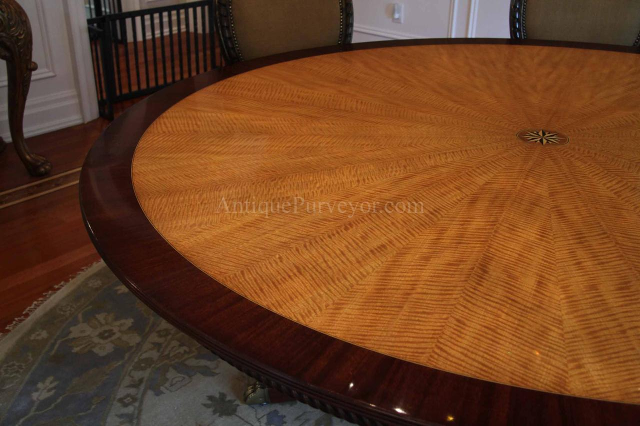100 Dining Tables 84 Round Wood 72 Inch