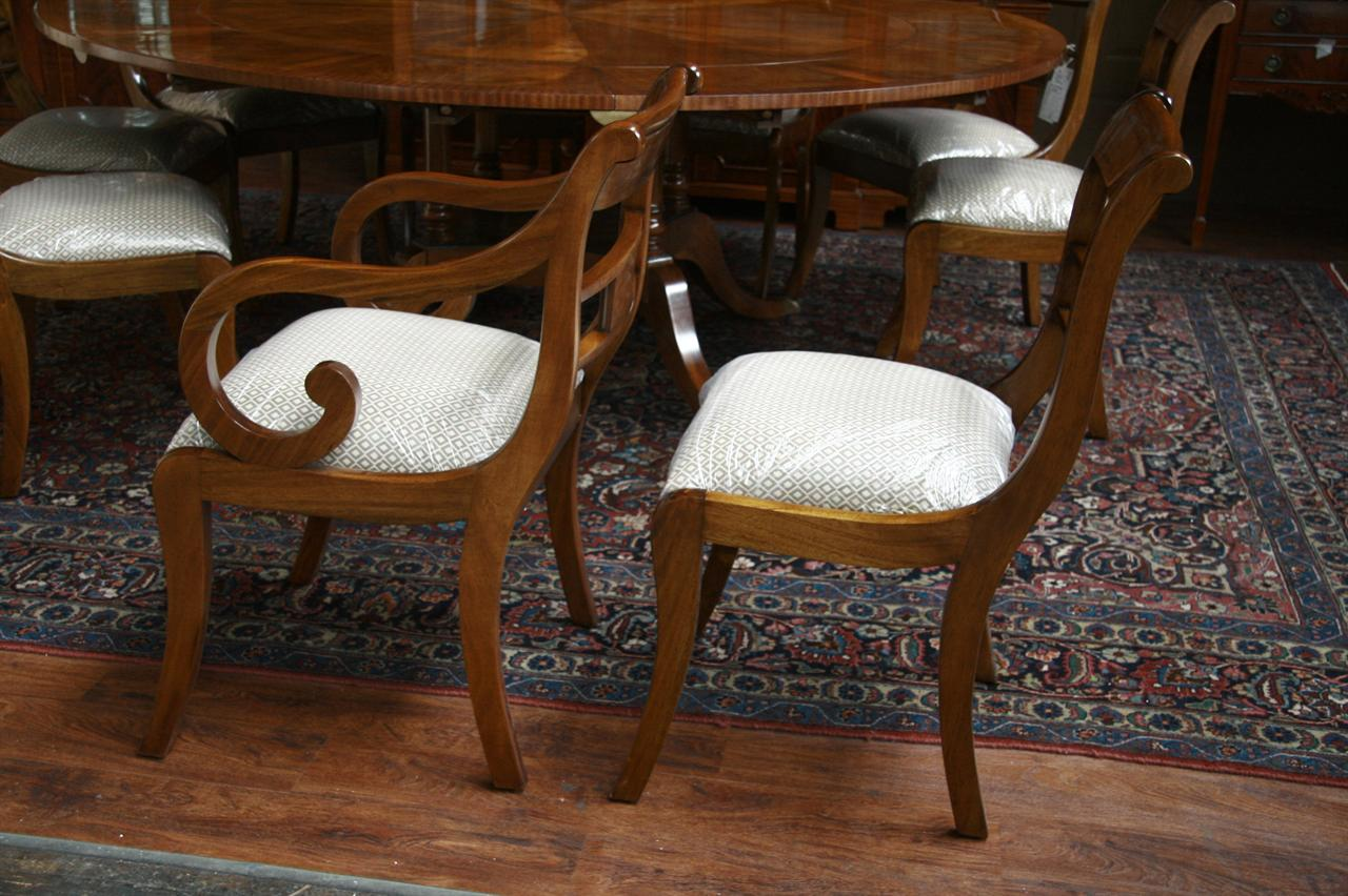 Mahogany Dining Chairs Duncan Phyfe Dining Chairs