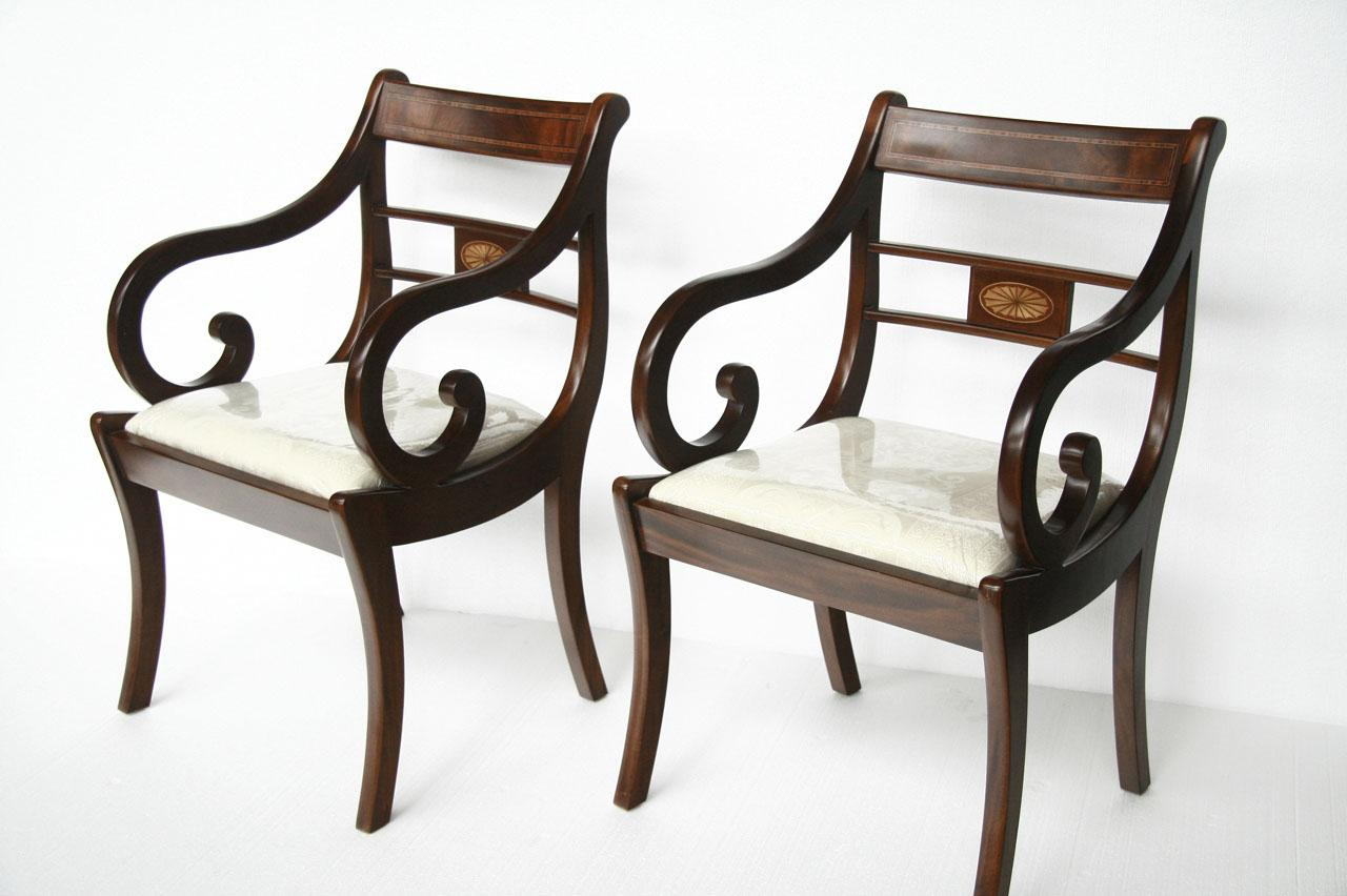 Duncan Phyfe Dining Chairs | Duncan Phyfe Dining Room Chairs ...