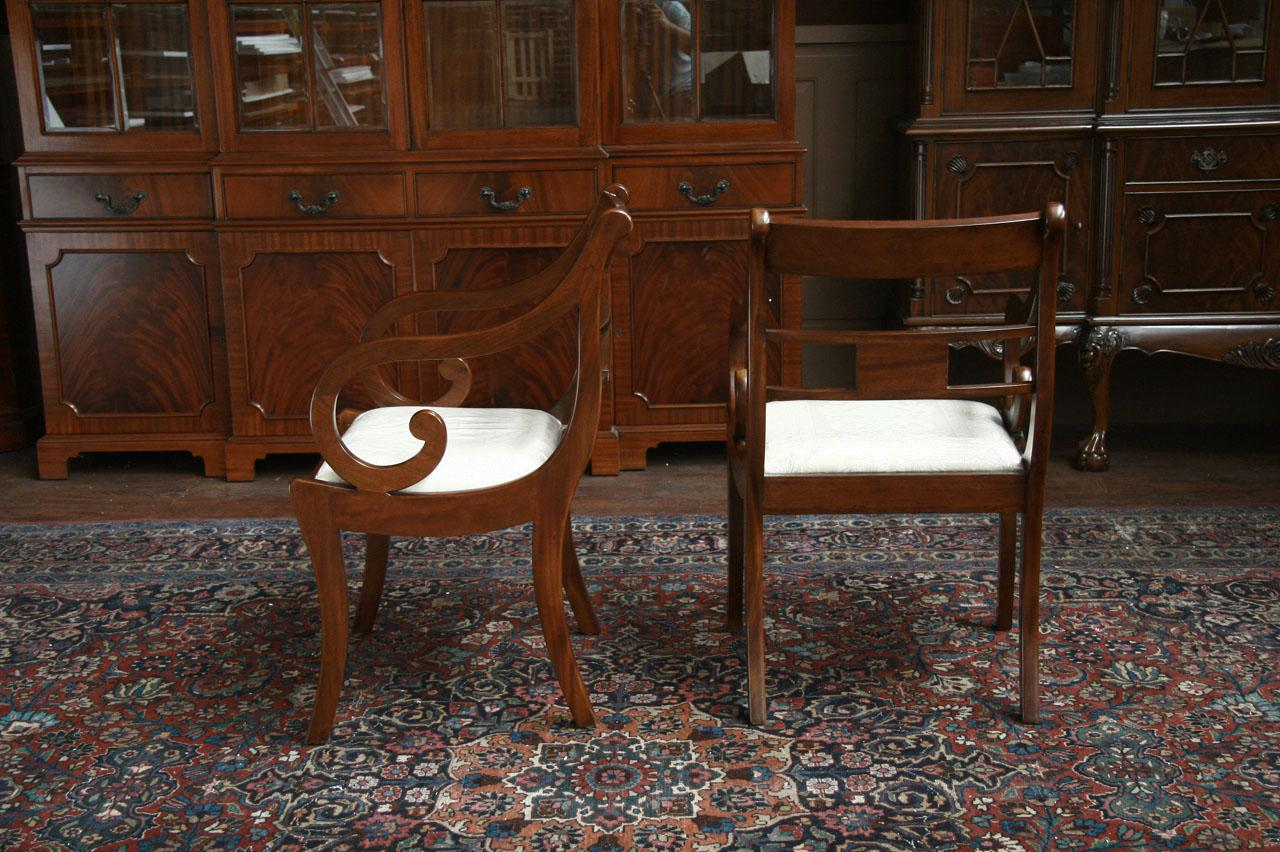 Beautiful Duncan Phyfe Dining Room Chairs | Side Chairs