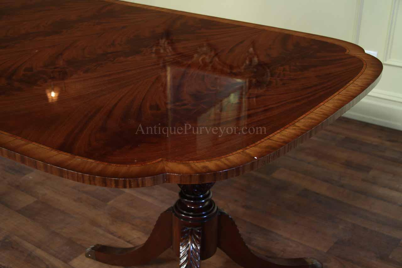 Stickley Dining Table Double Pedestal Dining Room Table