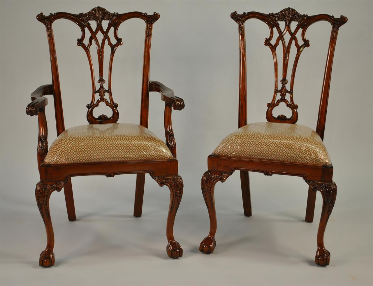 Ball And Claw Dining Room Chairs Chippendale Dining Chairs