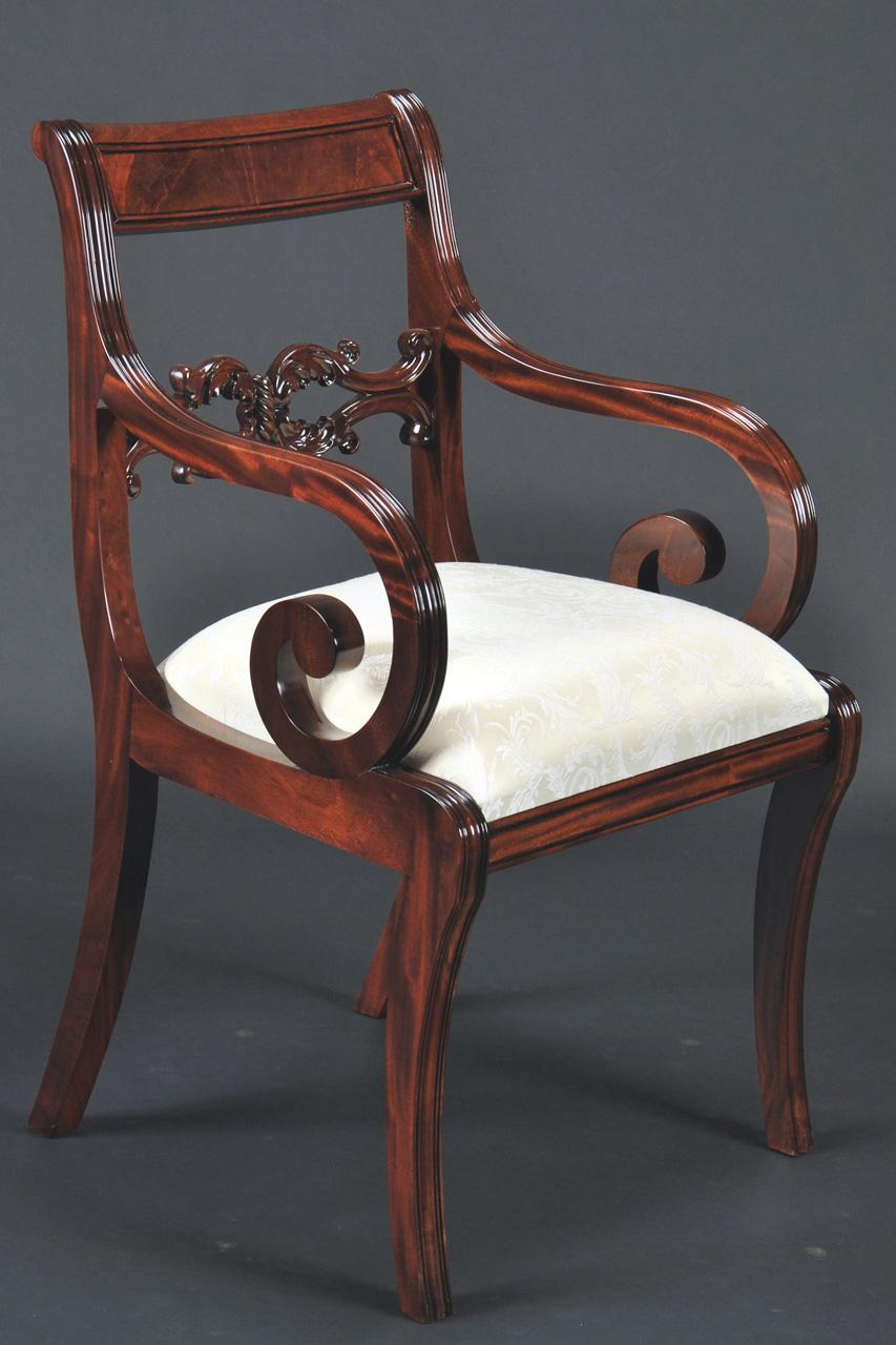 Empire Duncan Phyfe Dining Room Chairs