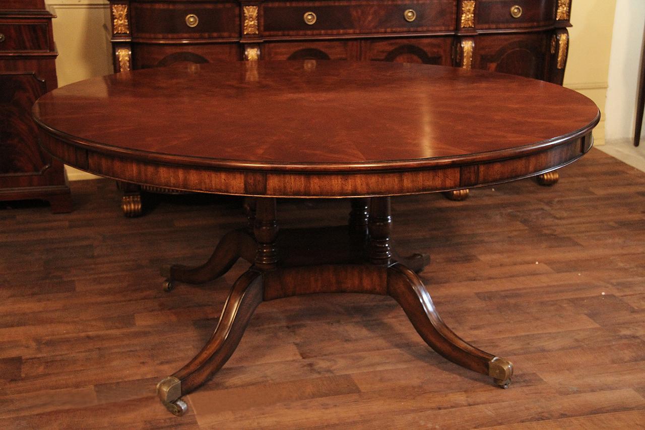 Brass Round Center Table