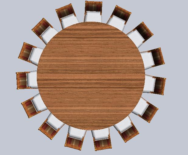 Foot Round Kitchen Table