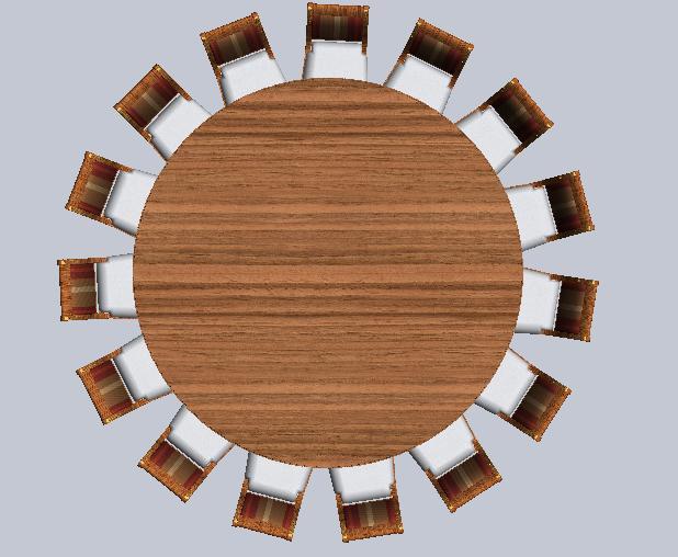 Oversized 9 foot Round Dining Table : thidOIPU1bGZzuvAc2VQorfzxCDAEsD2ampw230amph170amprs1amppclddddddamppid1 from www.antiquepurveyor.com size 618 x 508 jpeg 42kB