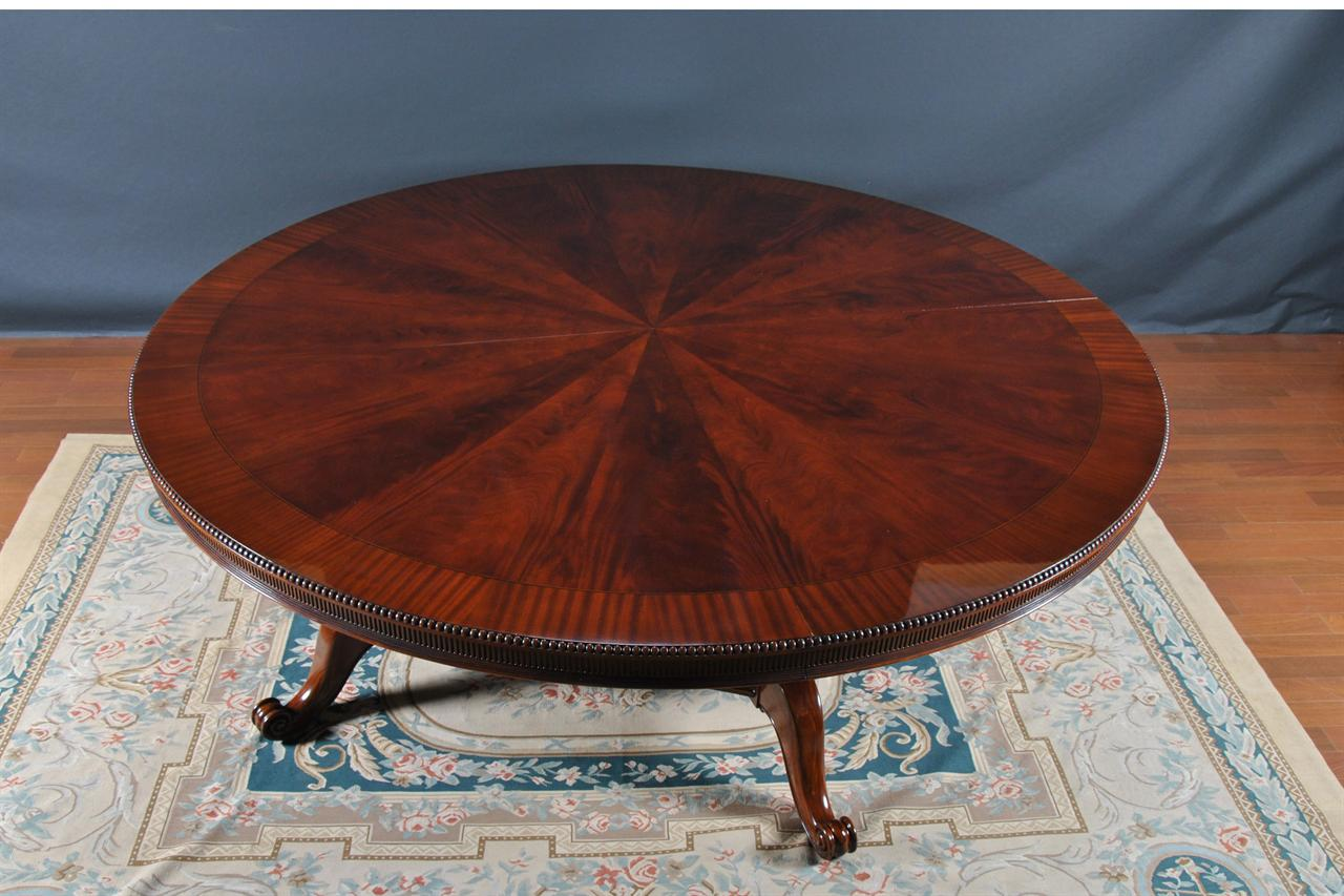 Dining table five foot round dining table - Extra large round dining room tables ...