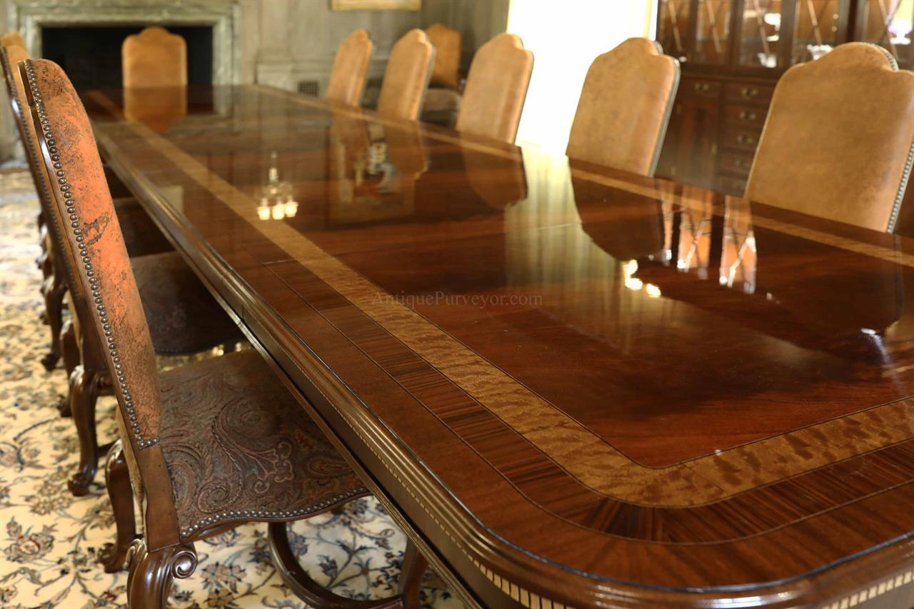 Dining Table Seats 30, Extra Large Dining Room Table And Chairs