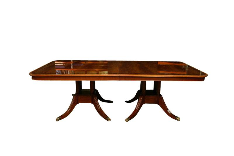 Extra large dining table american made high end for Extra long dining room tables sale