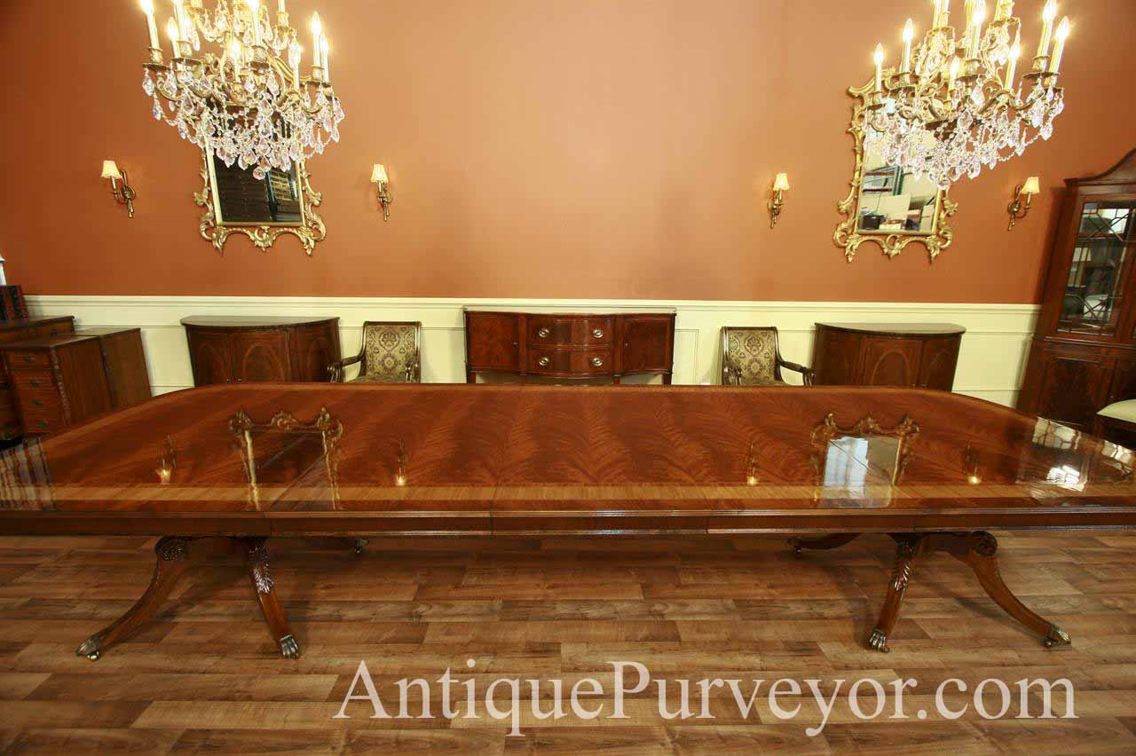 Extra large dining table long dining table with 3 leaves for Extra small dining table