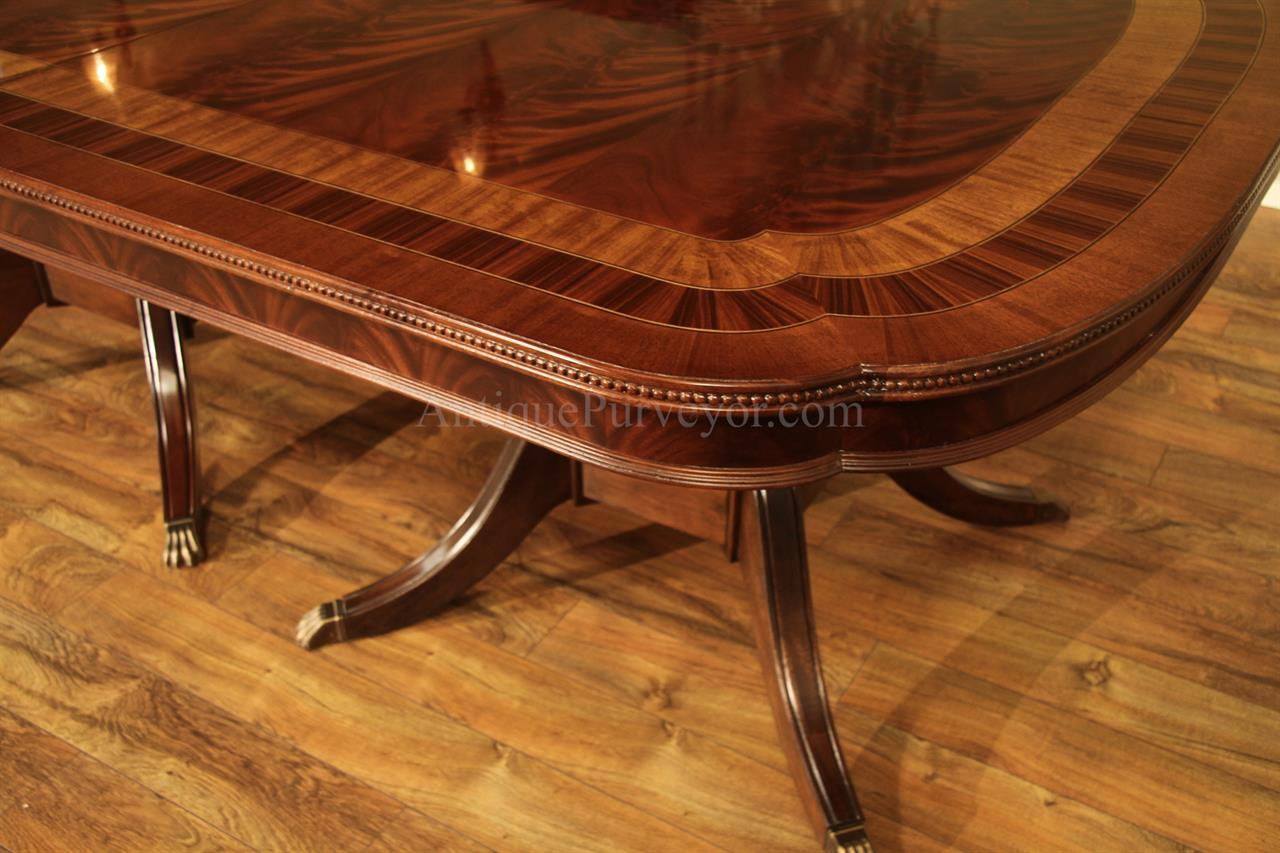 High End Antique Reproduction Dining Table