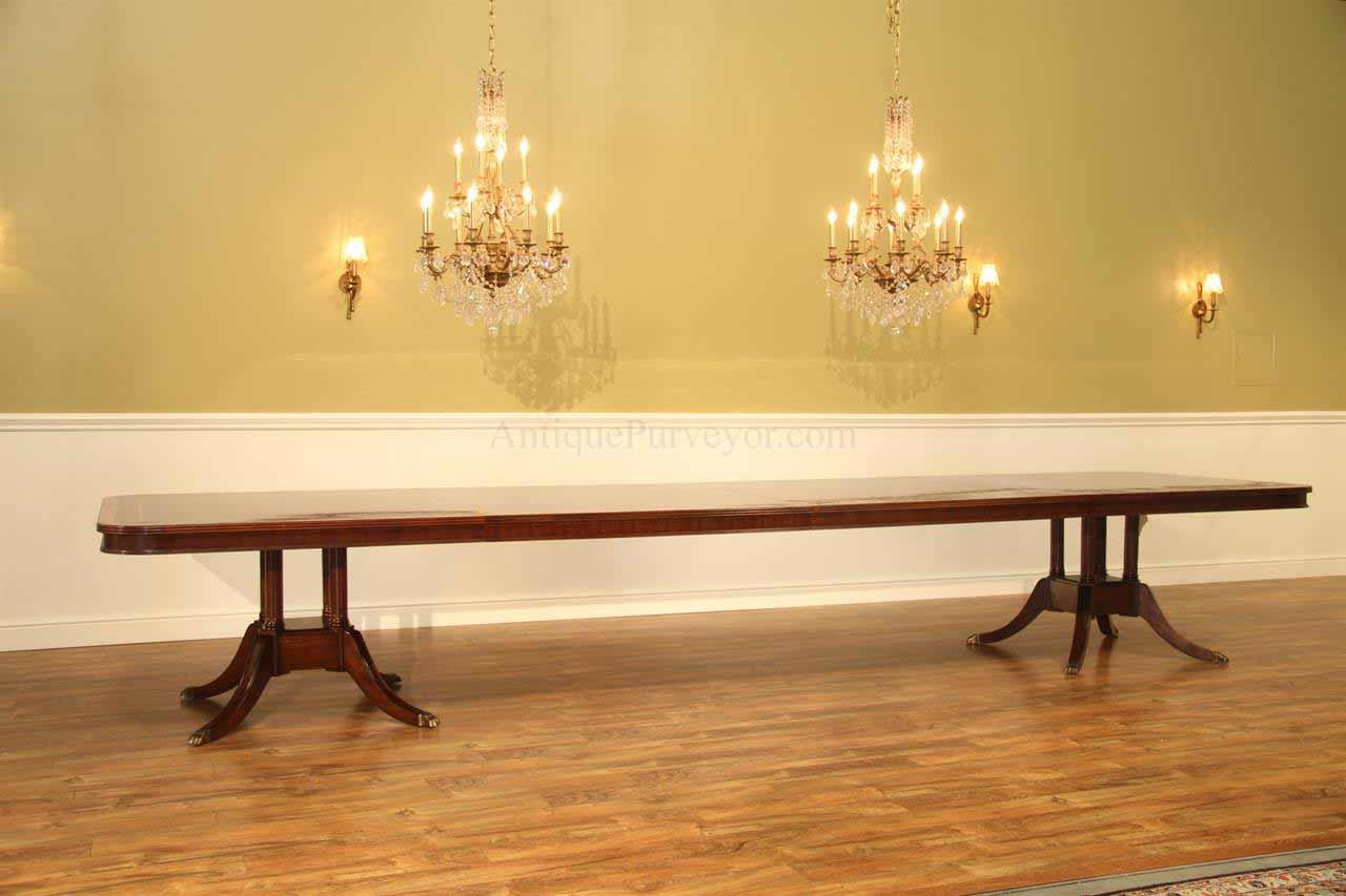 16 Foot Extra Long Dining Table Seats