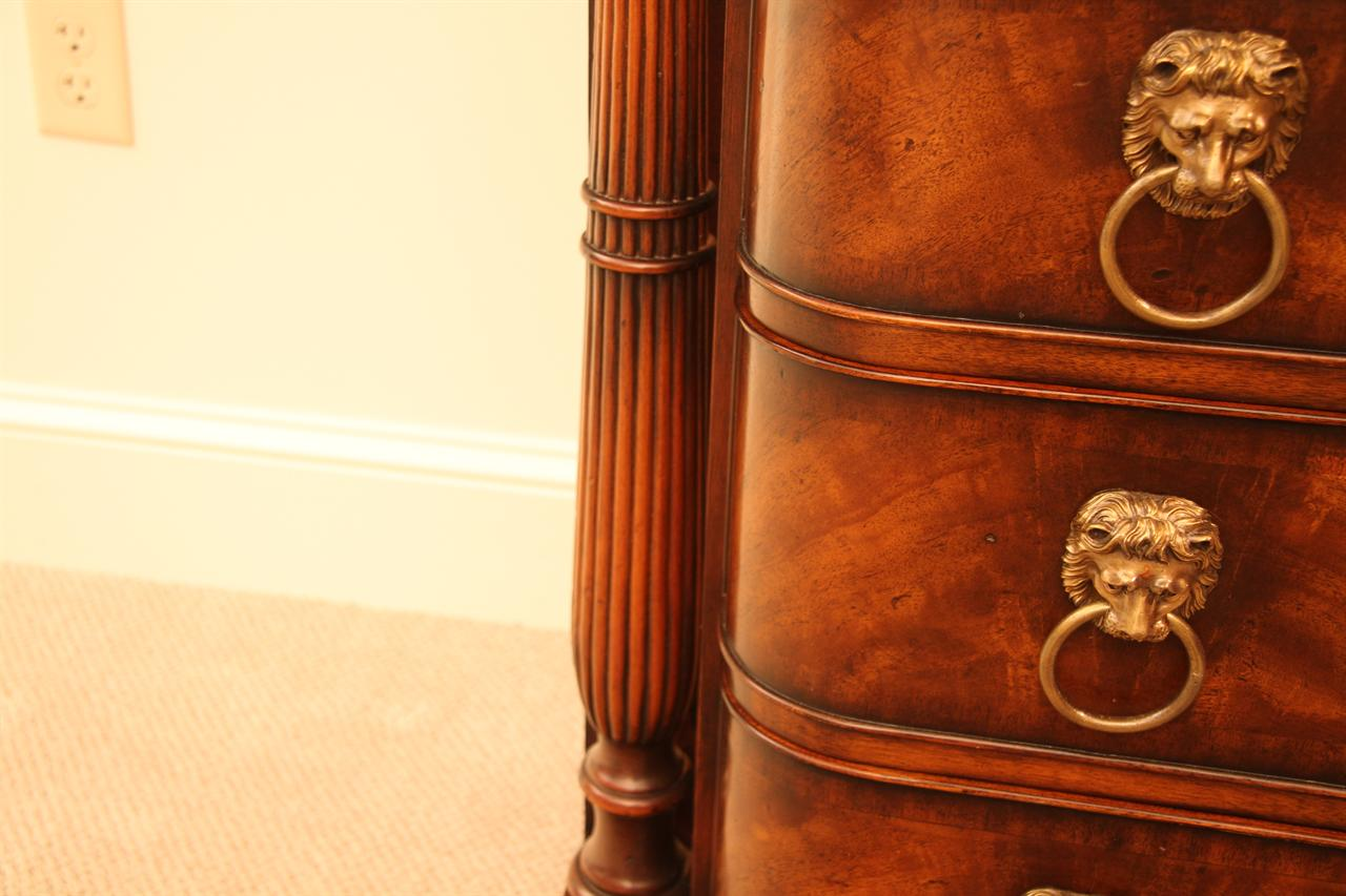 Antique Mahogany Chest Of Drawers Or Dining Room Server
